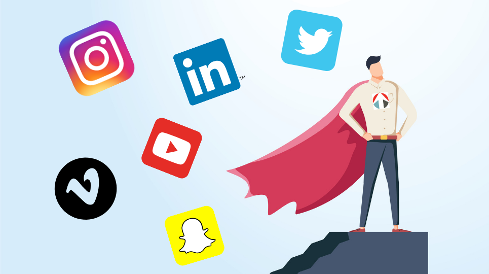 Social Media Blog still